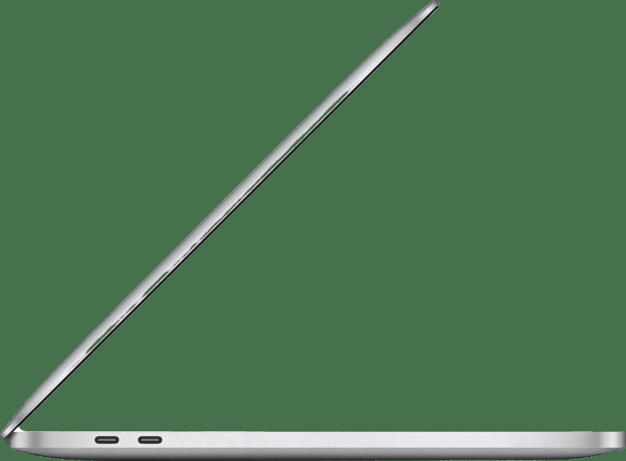 "Silber Apple 13"" MacBook Pro (Late 2020) - English (QWERTY) Notebook - Apple M1 - 8GB - 512GB SSD - Apple Integrated 8-core GPU.4"