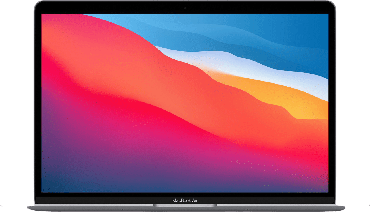 Space Grey Apple MacBook Air (Late 2020) - English (QWERTY) Laptop - Apple M1 - 8GB - 512GB SSD - Apple Integrated 8-core GPU.1