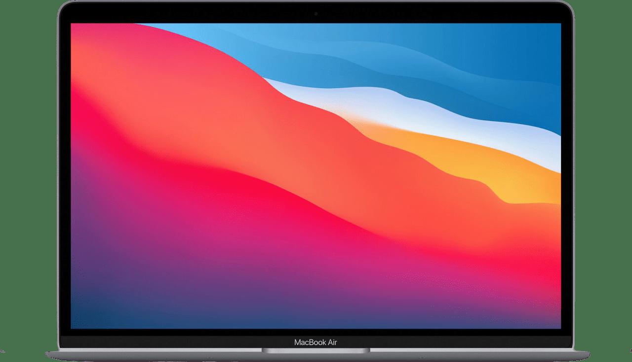 Plata Apple MacBook Air (Late 2020) - English (QWERTY) Laptop - Apple M1 - 8GB - 512GB SSD - Apple Integrated 8-core GPU.1