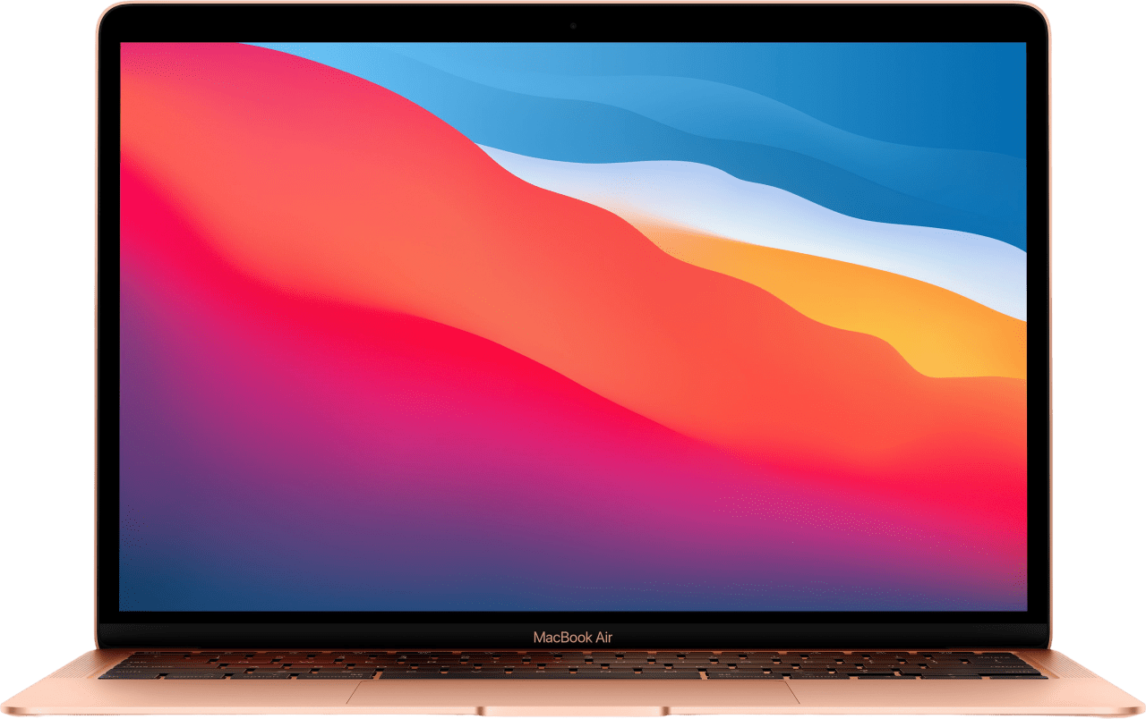 Gold Apple MacBook Air (Late 2020) - English (QWERTY) Laptop - Apple M1 - 8GB - 512GB SSD - Apple Integrated 8-core GPU.1