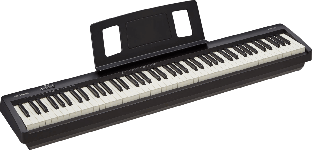 Black Roland FP-10 Digital Piano.1