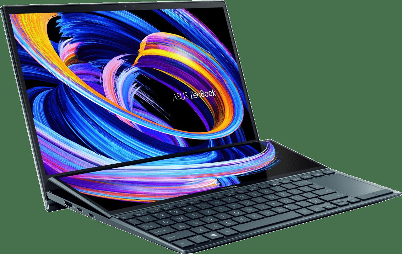 Celestial Blue Asus ZenBook Duo UX482EA-HY103R Laptop - Intel® Core™ i7-1165G7 - 16GB - 1TB SSD - Intel® Iris® Xe Graphics.4
