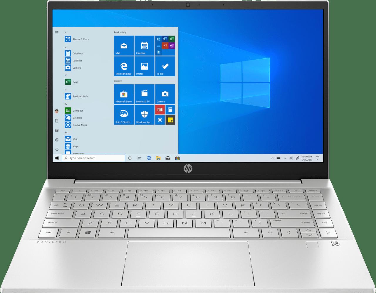Natural Silver HP Pavilion 14-dv0052ng Laptop - Intel® Core™ i5-1135G7 - 8GB - 512GB PCIe - Intel® Iris® Xe Graphics.1
