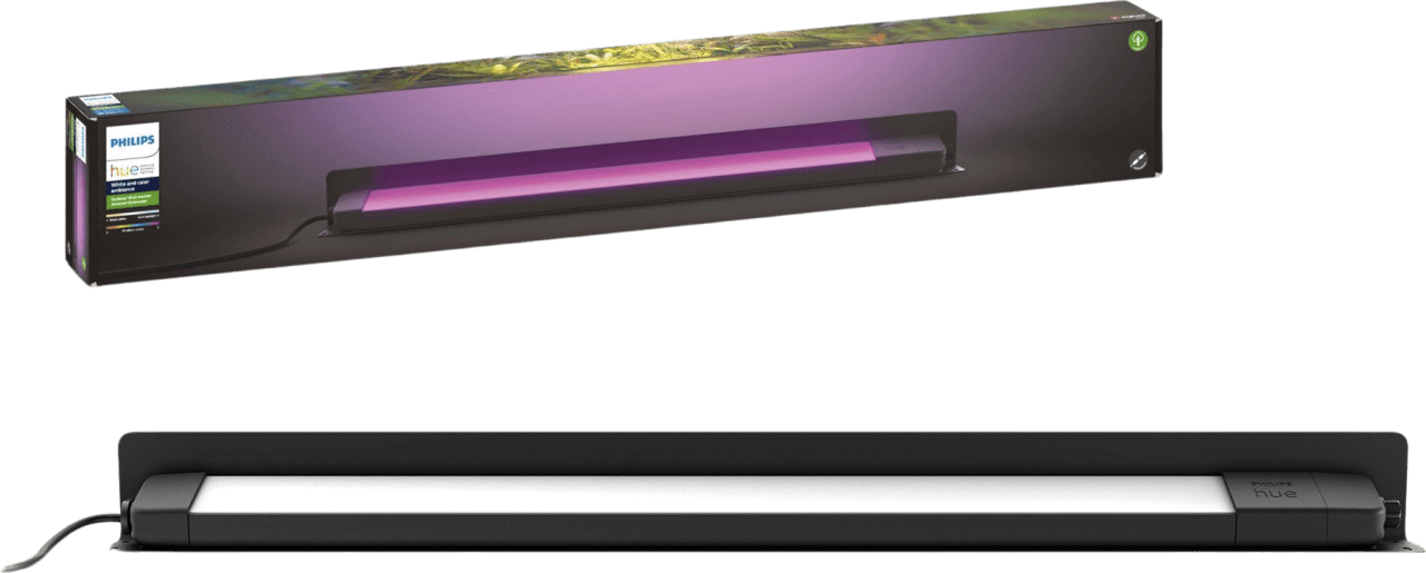 Black Philips Amarant Linear Outdoor Lamp.1