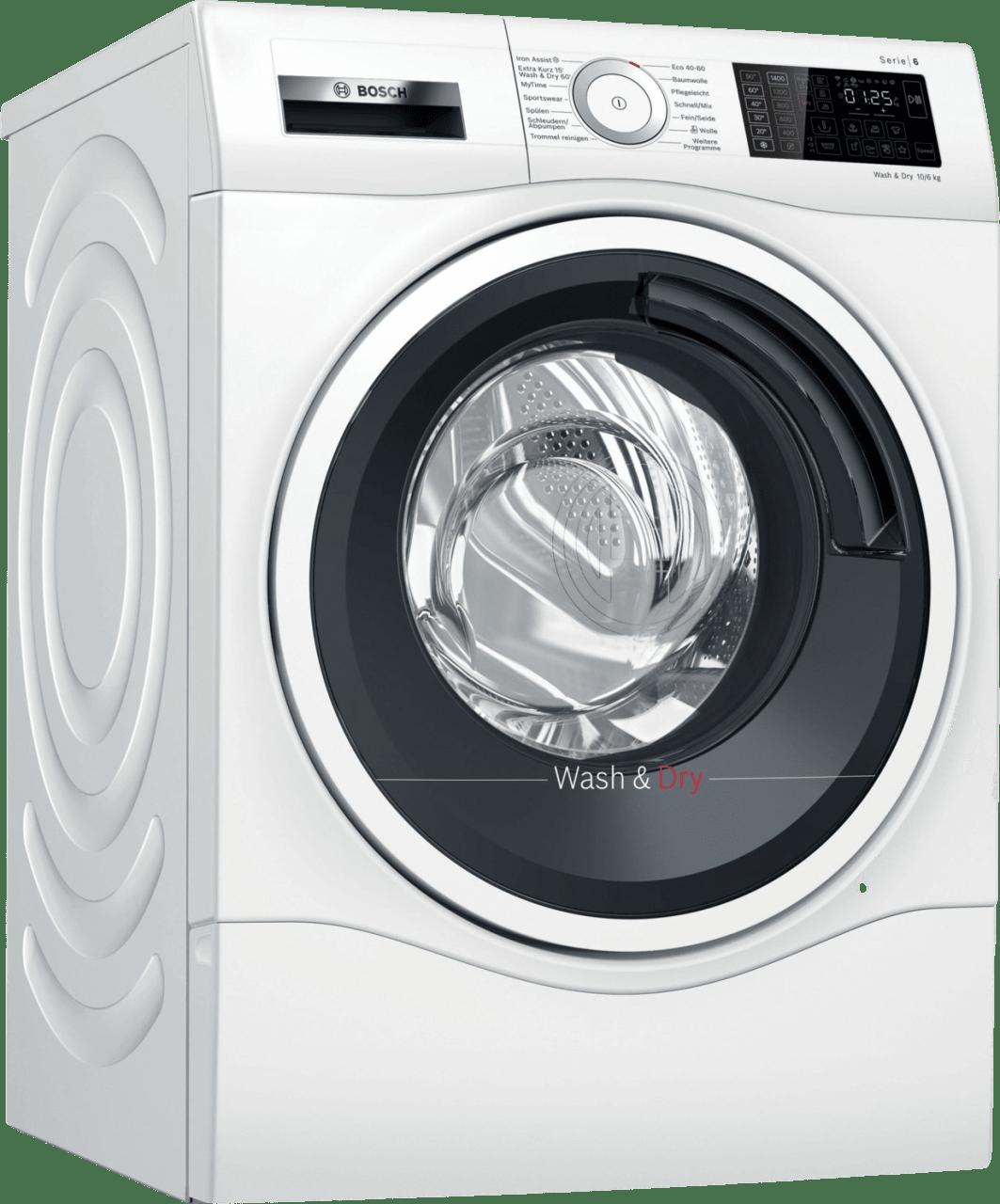 Weiß Bosch Waschtrockner WDU28512.1