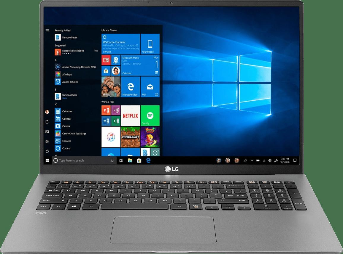 Dark Silver LG gram 17 Business Edition Laptop - Intel® Core™ i5-1035G7 - 8GB - 512GB SSD - Intel® Iris® Plus Graphics.1