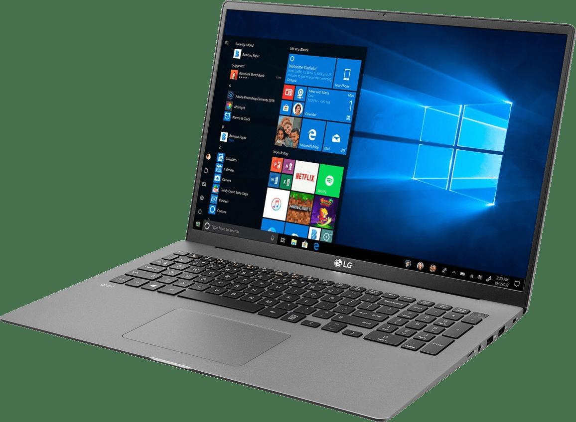 Dark Silver LG gram 17 Business Edition Notebook - Intel® Core™ i5-1035G7 - 8GB - 512GB SSD - Intel® Iris® Plus Graphics.2