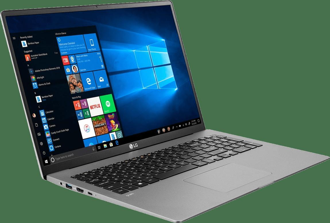 Dark Silver LG gram 17 Business Edition Notebook - Intel® Core™ i5-1035G7 - 8GB - 512GB SSD - Intel® Iris® Plus Graphics.3
