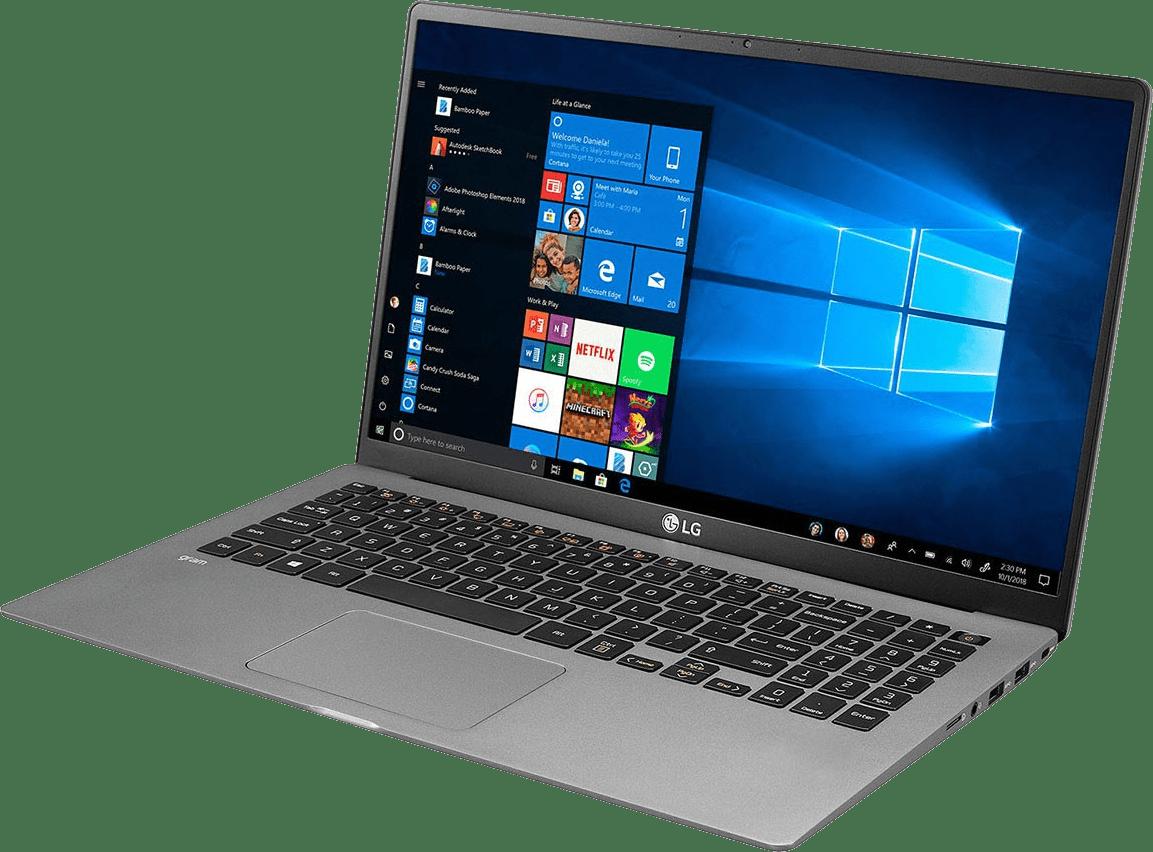 Dark Silver LG gram 15 Business Edition Laptop - Intel® Core™ i5-1035G7 - 8GB - 512GB SSD - Intel® Iris® Plus Graphics.3