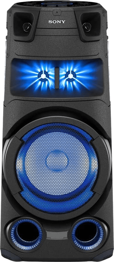 Black Sony MHC-V73D Partybox Party Bluetooth Speaker.1