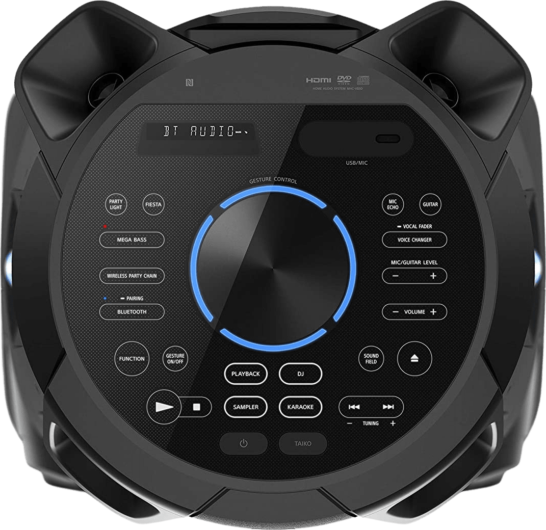 Black Sony MHC-V83D Partybox Party Bluetooth Speaker.3