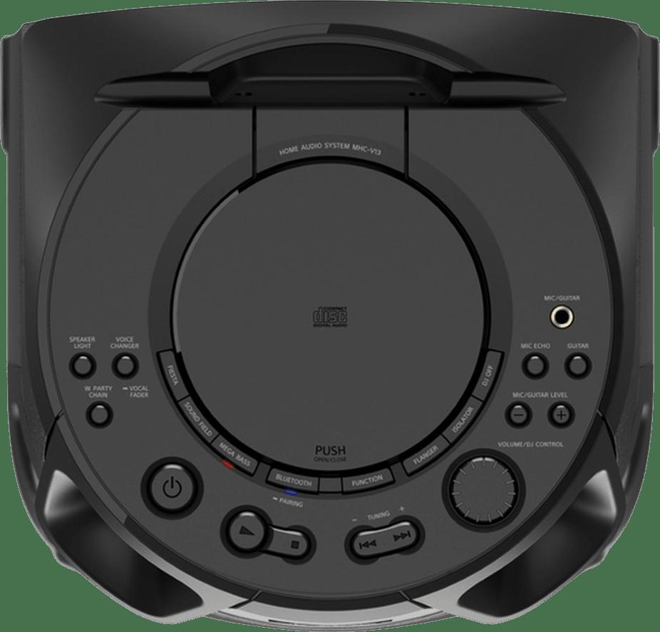 Schwarz Sony MHC-V13 Partybox Party Bluetooth Speaker.4