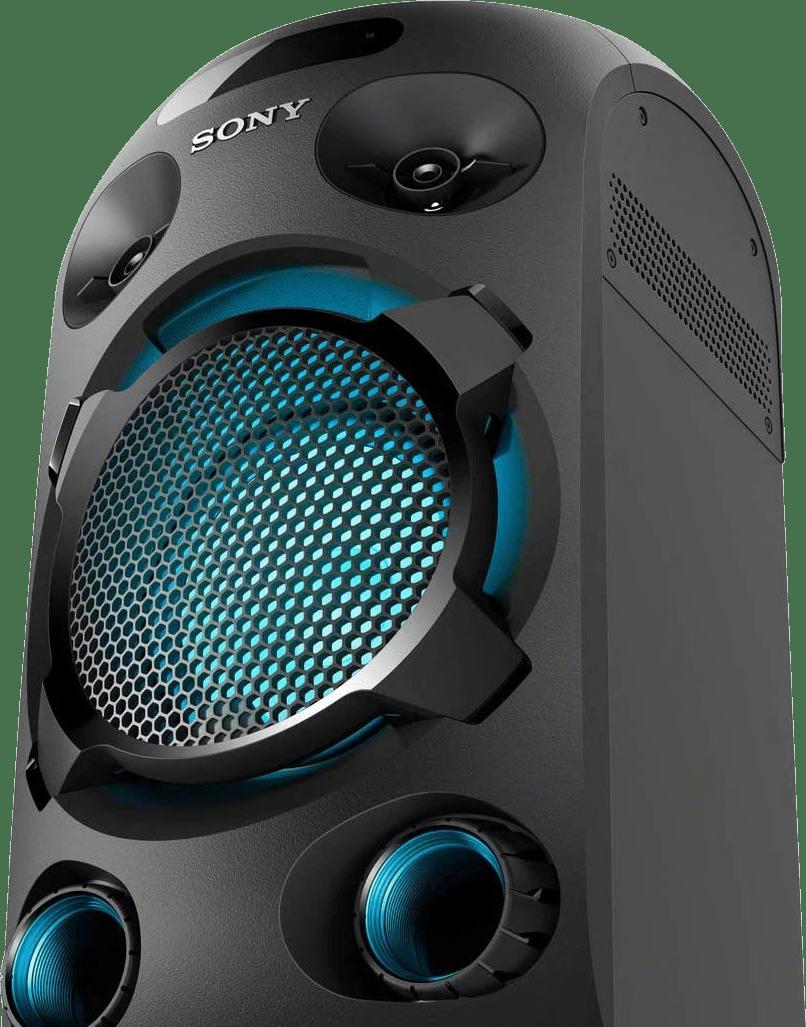 Black Sony MHC-V02 Partybox Party Bluetooth Speaker.2