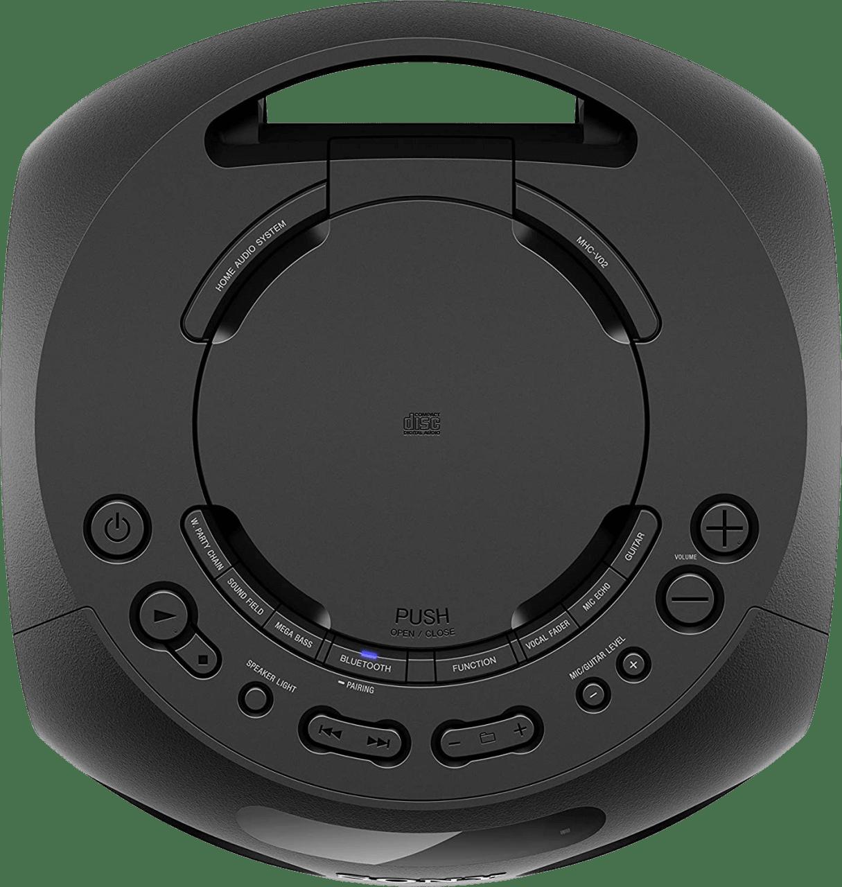 Black Sony MHC-V02 Partybox Party Bluetooth Speaker.4