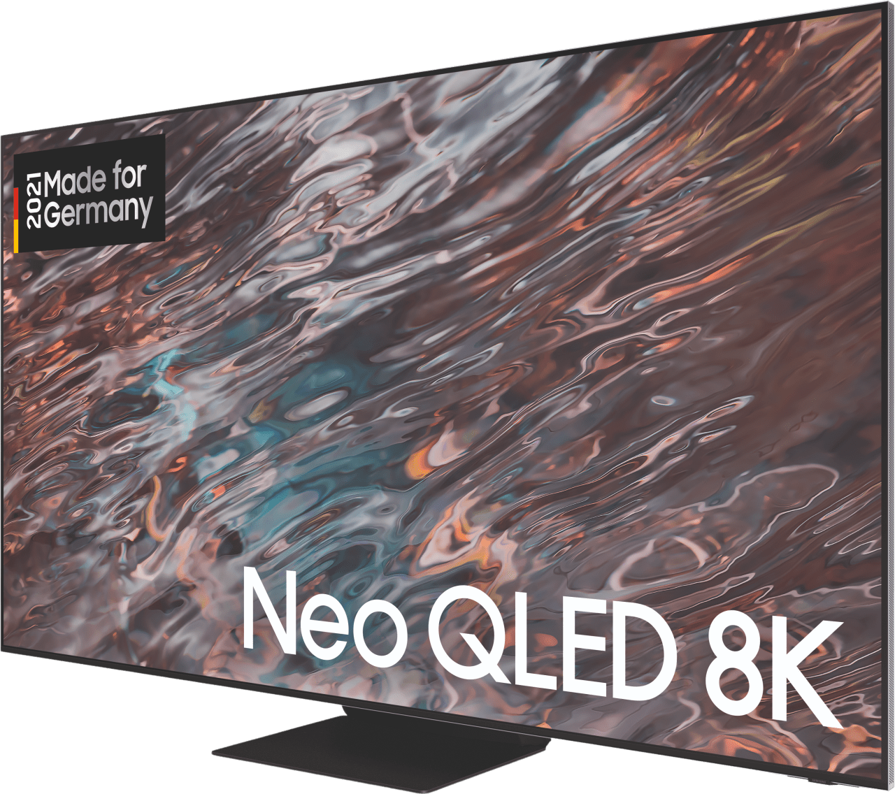 "Black Samsung TV 65"" GQ65QN800ATXZG Neo QLED 8K.3"