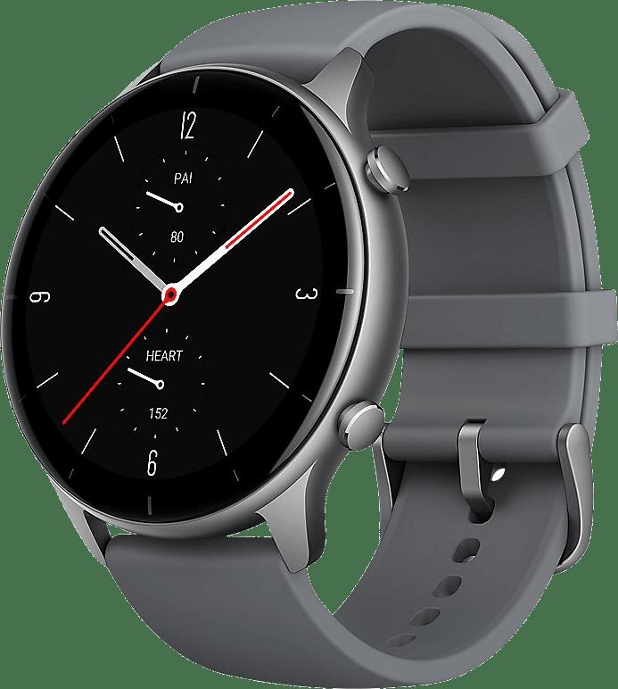 Schiefergrau Amazfit GTR 2e Smartwatch, 46mm Alumium-Gehäuse.1