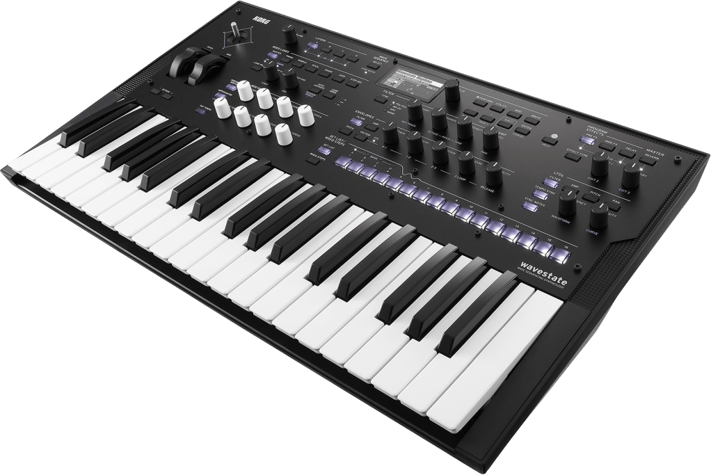 Black Korg Wavestate Digital Synthesizer.3