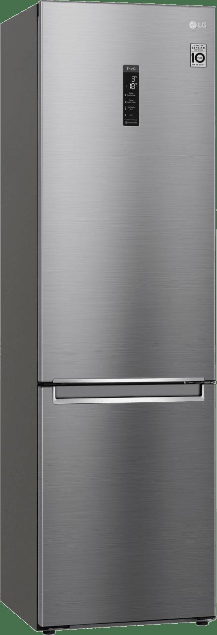 Steel LG Fridge Freezer Combo GBB62PZFFN.2