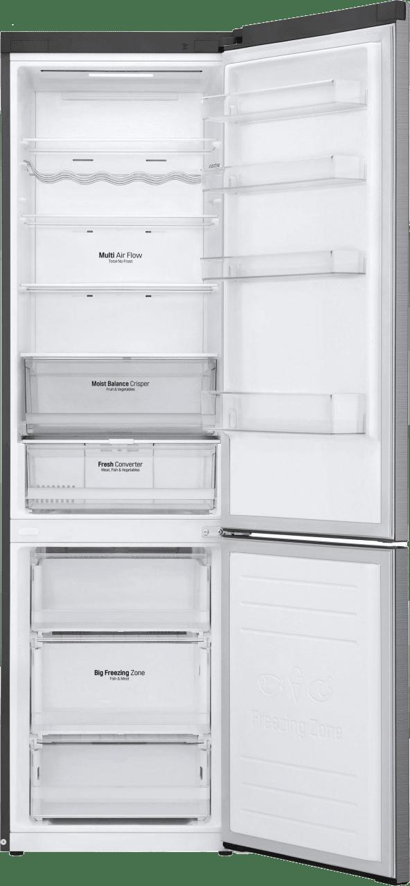 Steel LG Fridge Freezer Combo GBB62PZFFN.3