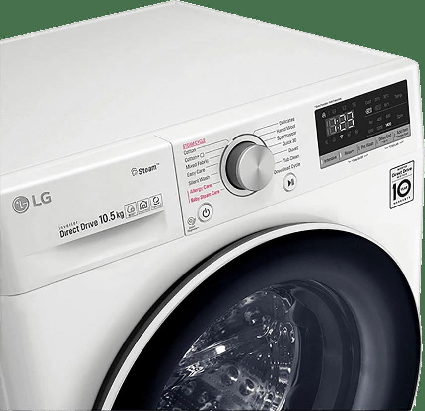 White LG Washing Machine F4WV510S0E.2