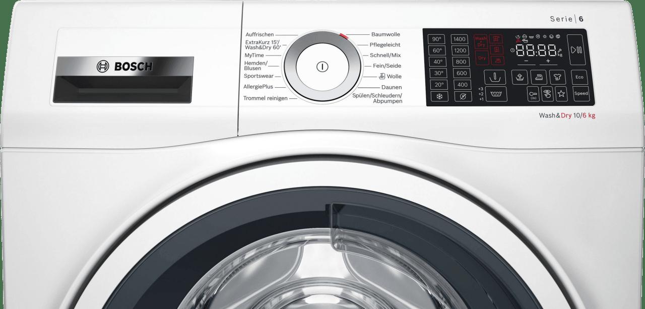 Weiß Bosch Waschtrockner WDU28512.5