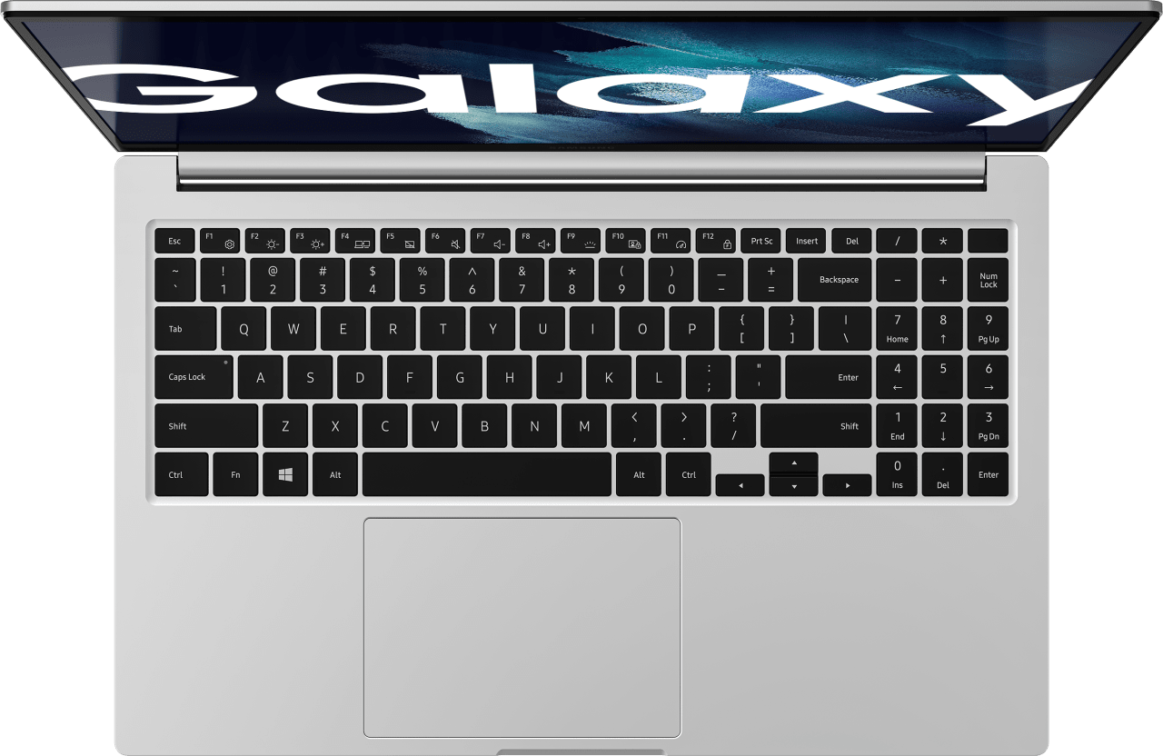 Mystic Silver Samsung Galaxy Book Laptop - Intel® Core™ i5-1135G7 - 8GB - 256GB SSD - Intel® Iris® Xe Graphics.4