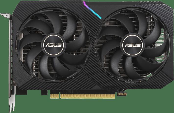Schwarz Asus GeForce RTX™ 3060 Dual O12G Grafikkarte.1