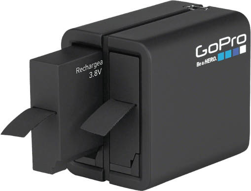 Black GoPro Dual Battery Charger with HERO5 Black Battery.1