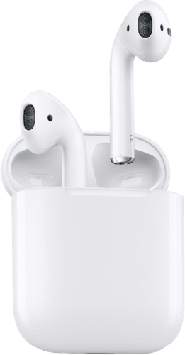 White Apple AirPods.2
