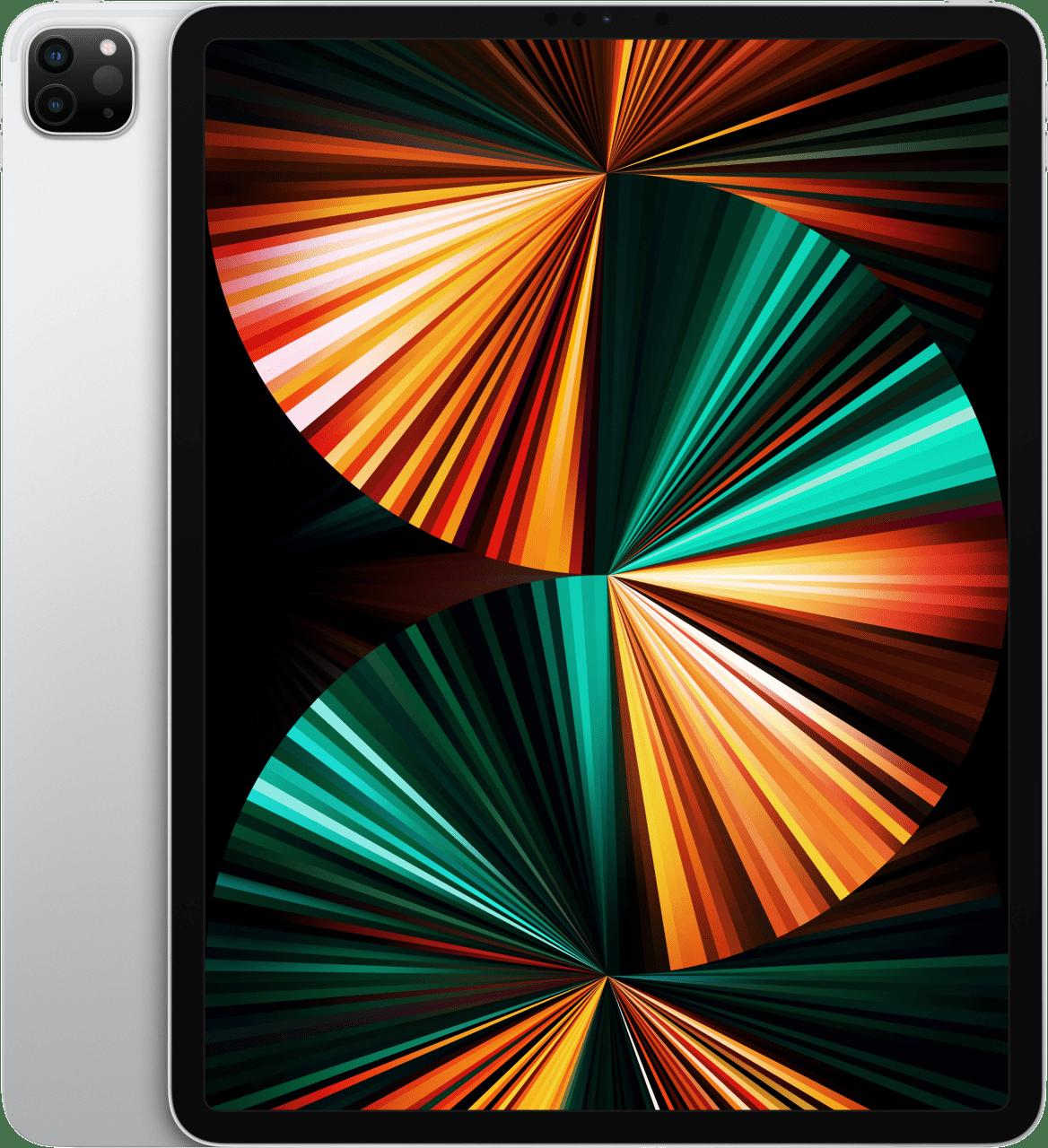 Silber Apple 12,9 Zoll iPad Pro WiFi + 5G 2TB (2021).1