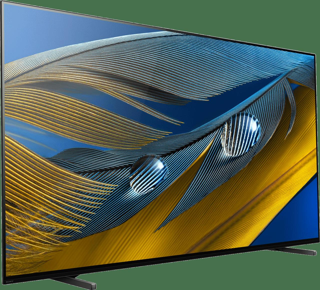 """Black Sony TV 65"""" XR65A80J BRAVIA XR 4K OLED.3"""
