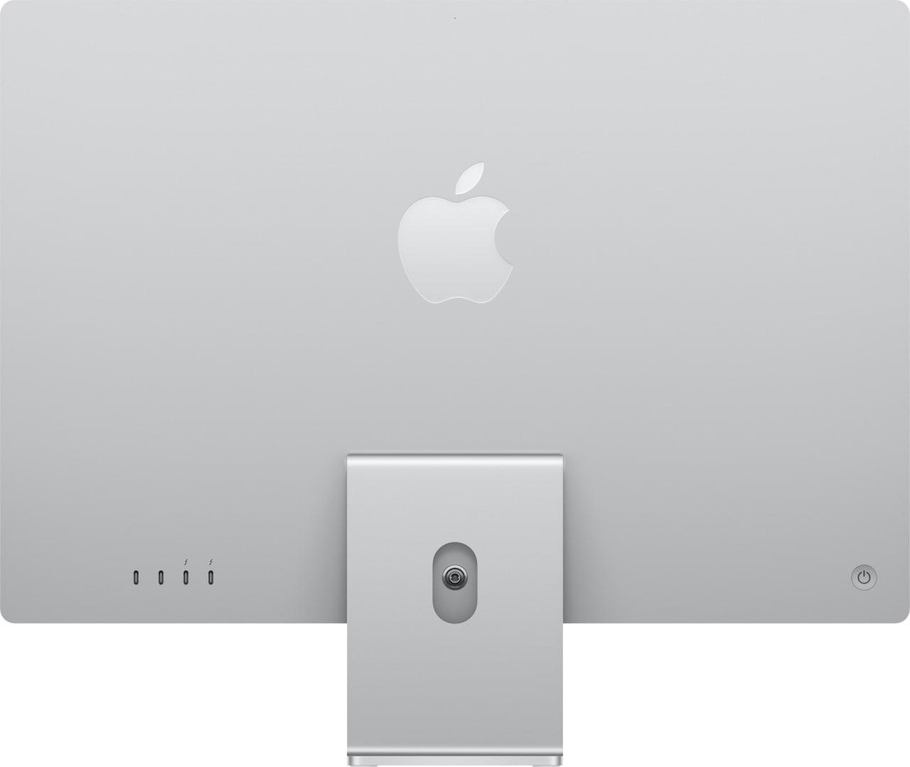 "Silver Apple 24"" iMac (Mid 2021) All-in-One - Apple M1 - 16GB - 512GB SSD - Apple Integrated 8-core GPU.3"
