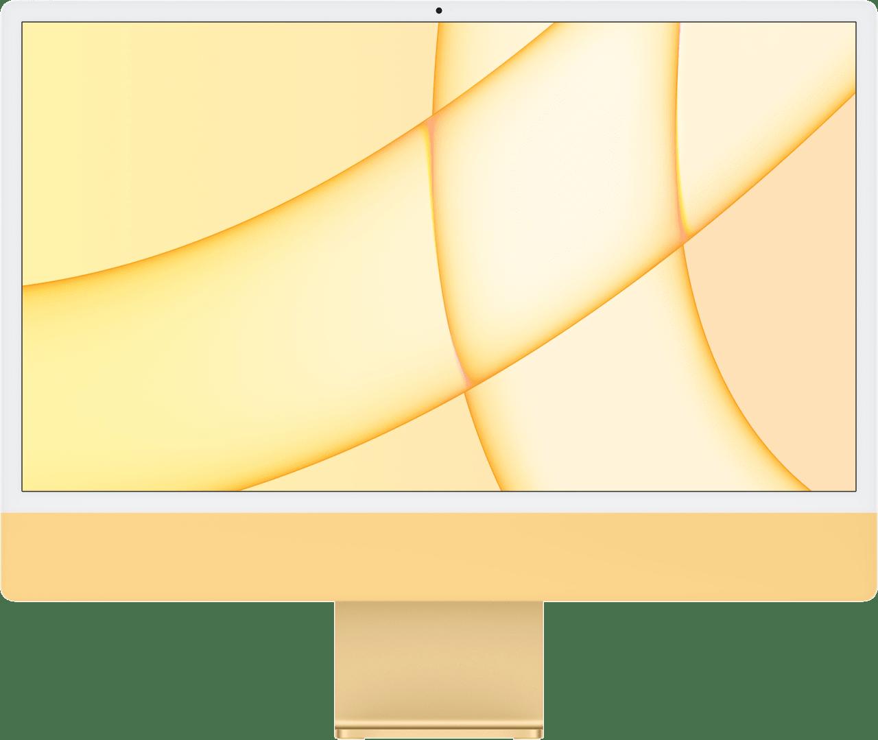 "Gelb Apple 24"" iMac (Mid 2021) All-in-One PC - Apple M1 - 8GB - 256GB SSD - Apple Integrated 8-core GPU.1"