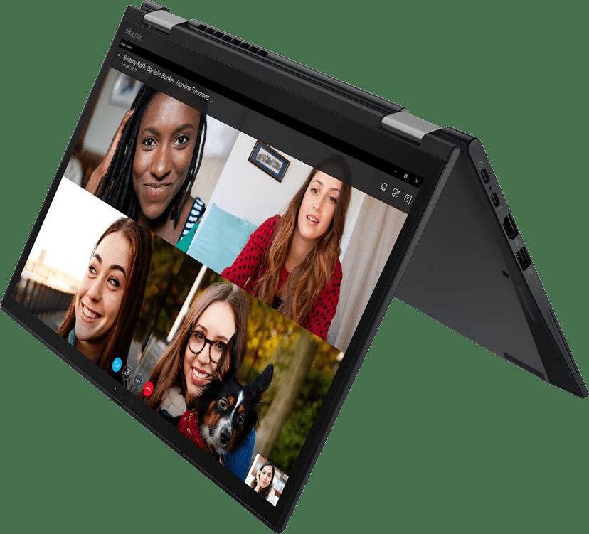 Black Lenovo ThinkPad X13 Yoga G2 Convertible - Intel® Core™ i5-1135G7 - 8GB - 256GB SSD - Intel® Iris® Xe Graphics.1