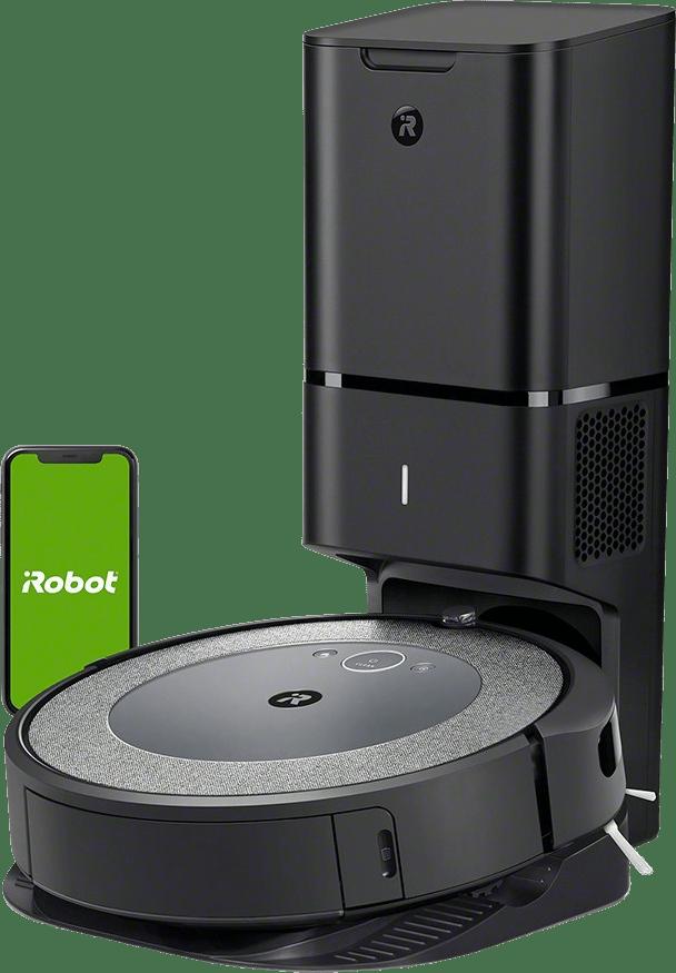 Neutral iRobot Roomba i4+ (i4558) Saugroboter mit Absaugstation.1