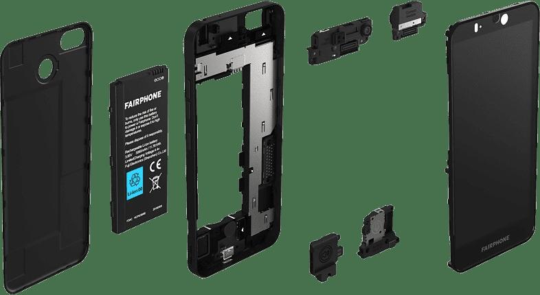 Black Fairphone 3+ 64GB - Smartphone - Dual SIM.3