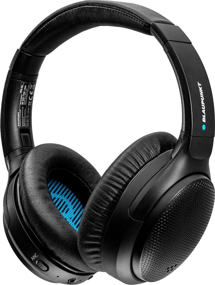 Schwarz Headphones Blaupunkt HPB 200 Noise-cancelling Over-ear Bluetooth headphones.1