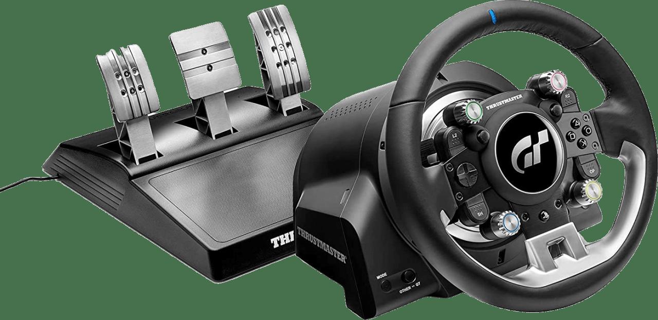 Zwart Thrustmaster T-GT II Racing Stuur + 3 pedaalset.1