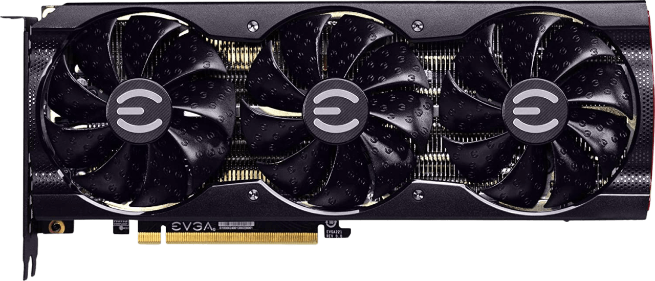 Schwarz EVGA GeForce RTX 3090 XC3 Ultra Gaming Grafikkarte.1