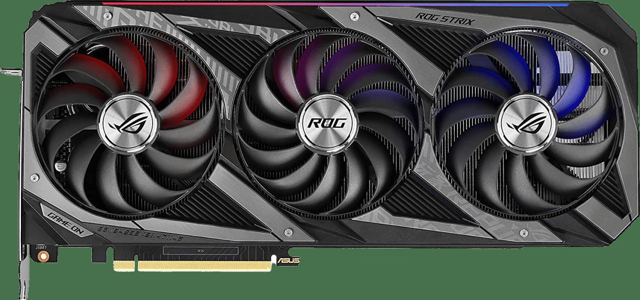 Black Asus TUF Gaming GeForce RTX 3080Ti OC Graphics Card.1