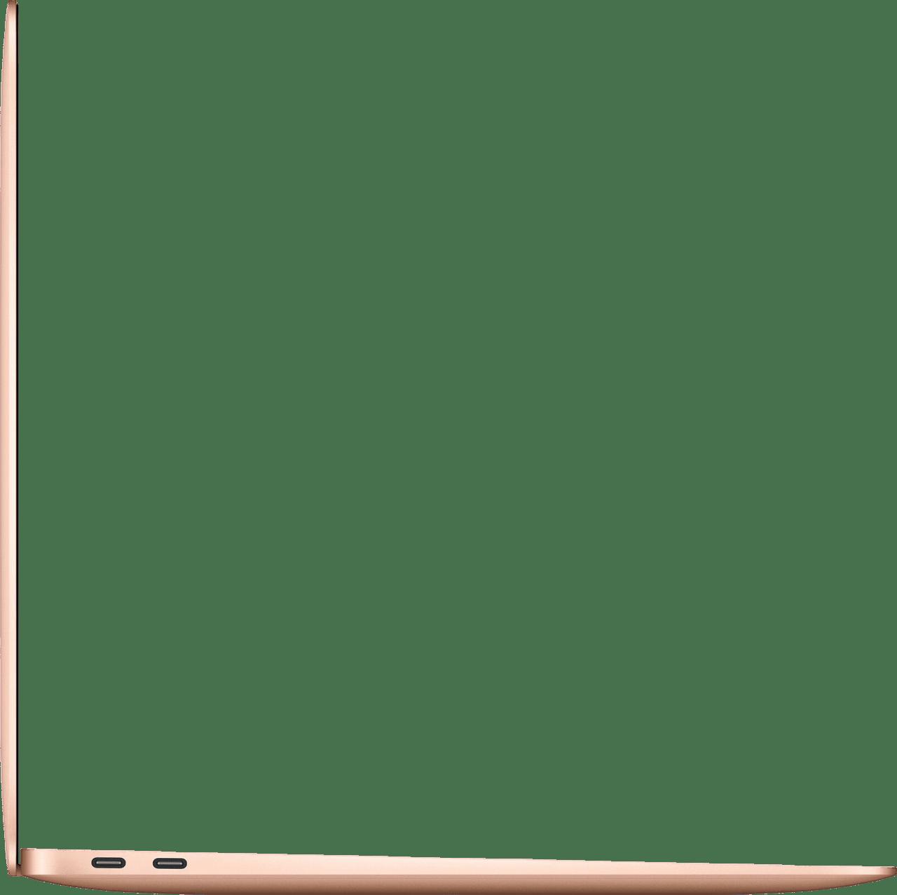 Gold Apple MacBook Air (Late 2020) - English (QWERTY) Laptop - Apple M1 - 8GB - 256GB SSD - Apple Integrated 7-core GPU.3