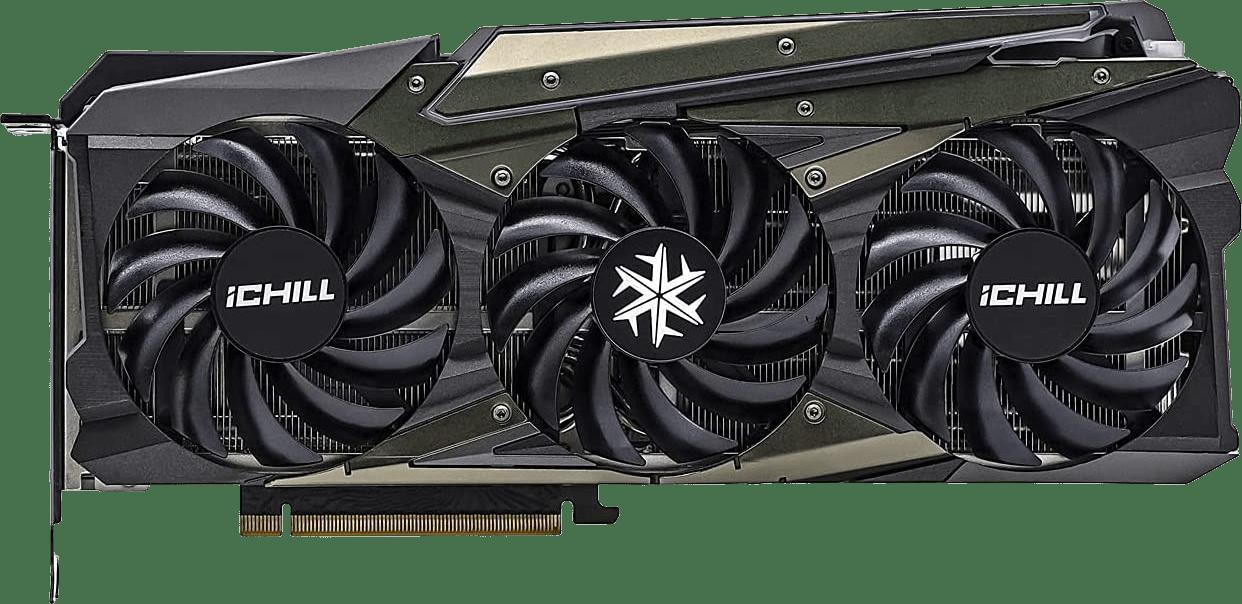 Black Inno3D GeForce RTX 3080 Ti iChill X4 LHR Graphics Card.1