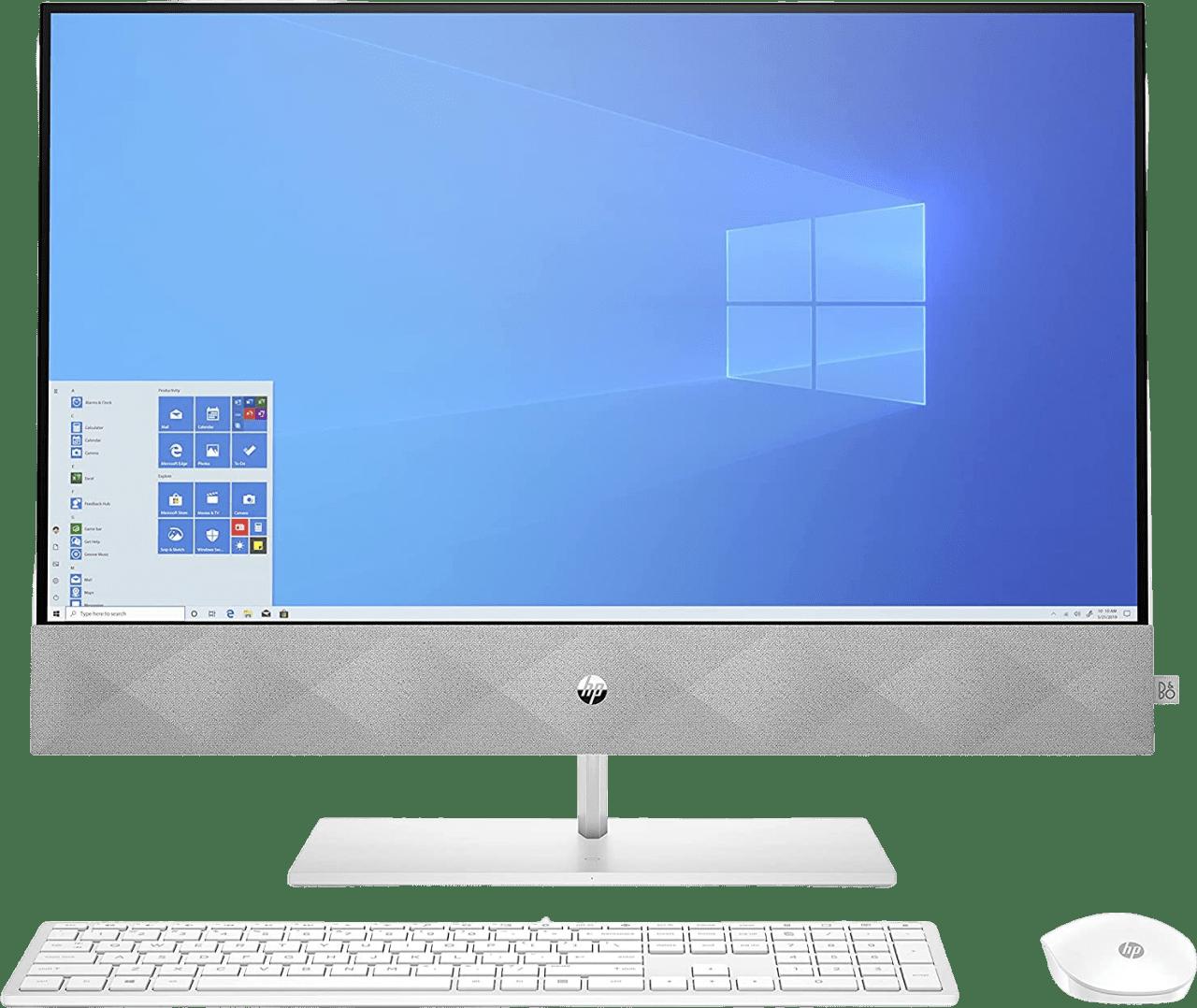 White HP 27-d1009ng All-in-One - Intel® Core™ i5-11500T - 8GB - 512GB SSD - NVIDIA® GeForce® MX350 (4GB).1
