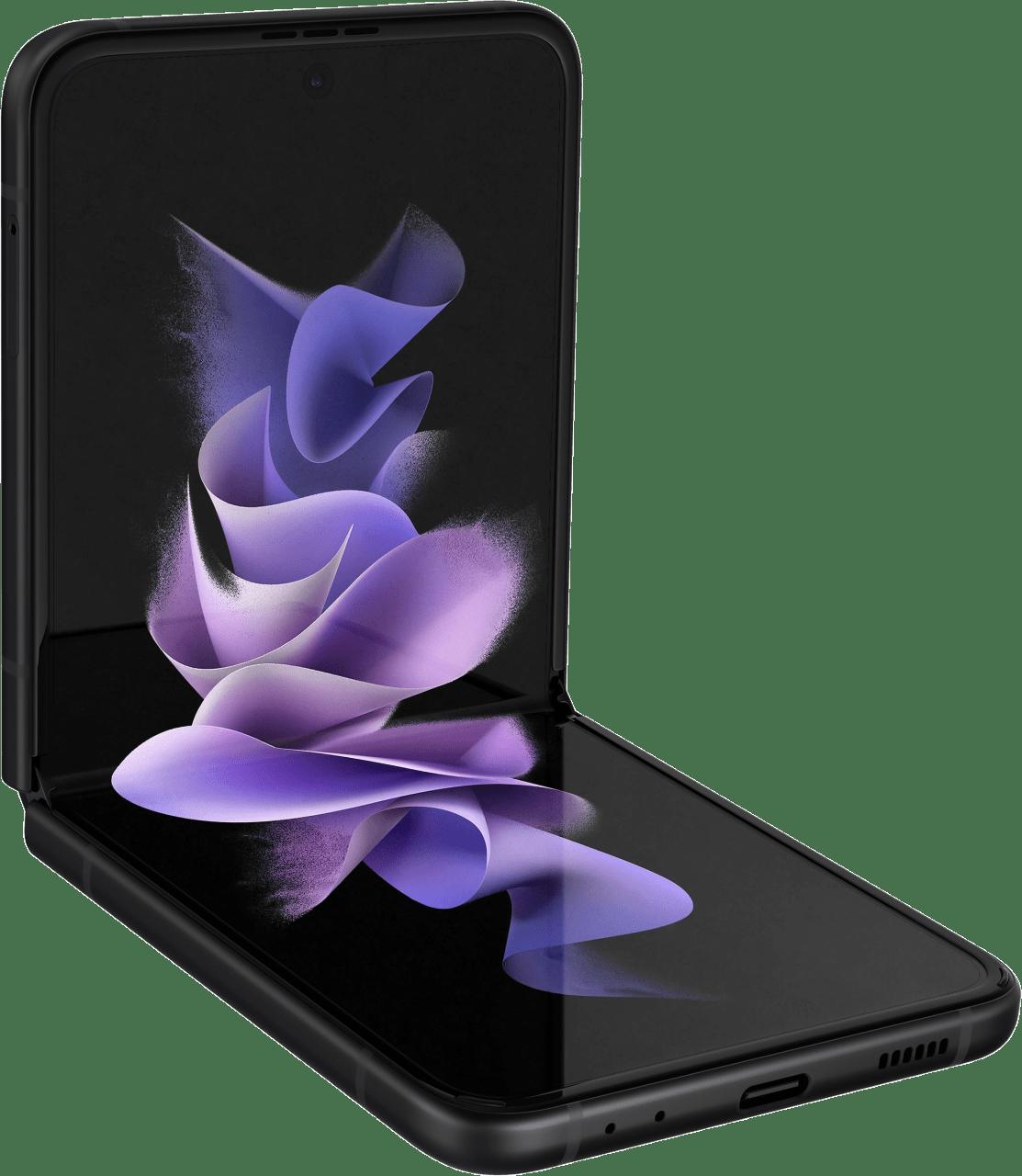 Negro Samsung Smartphone Galaxy Flip 3 - 128GB - Dual Sim.2