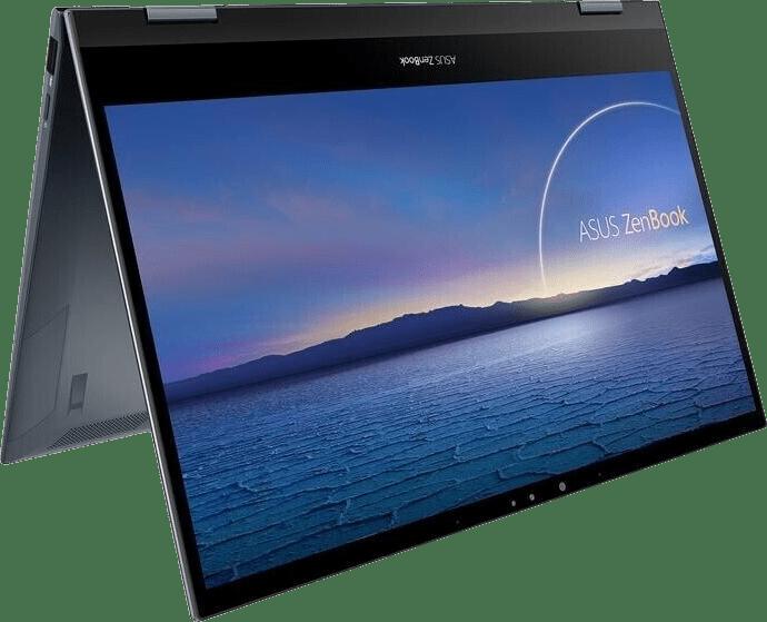 Silver Asus Zenbook Flip 13 UX363JA-HR195T Convertible - Intel® Core™ i5-1035G4 - 16GB - 512GB SSD - Intel® Intel® Iris® Plus.1