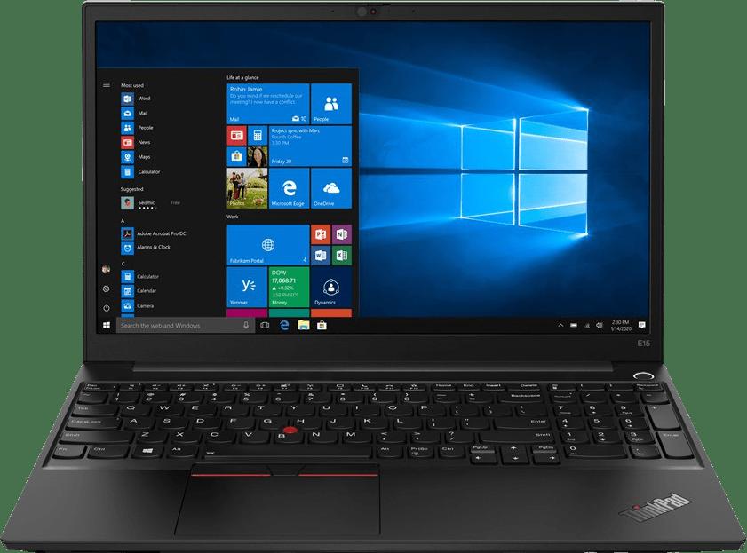 Black Lenovo ThinkPad E15 Gen 2 Laptop - AMD Ryzen™ 5 4500U - 8GB - 256GB SSD - AMD Radeon™ Graphics.1