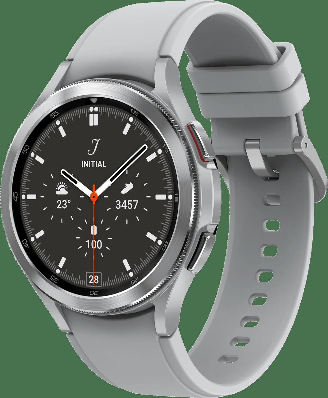Silber Samsung Galaxy Watch4 Classic LTE, 46mm.1