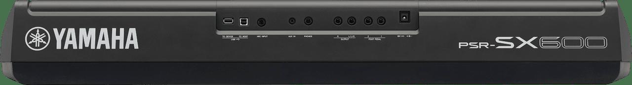 Black Yamaha PSR-SX600 61-Key Digital Workstation Piano.3
