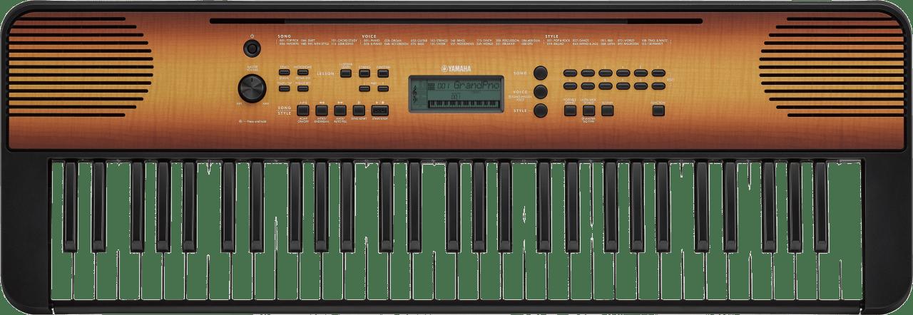 Esdoorn Yamaha PSR-E360 61-sleutel draagbare digitale piano.1