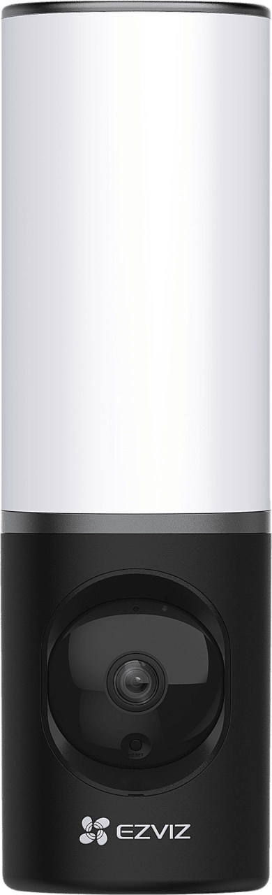 Black EZVIZ LC3 Wall Light with Integrated Camera.1
